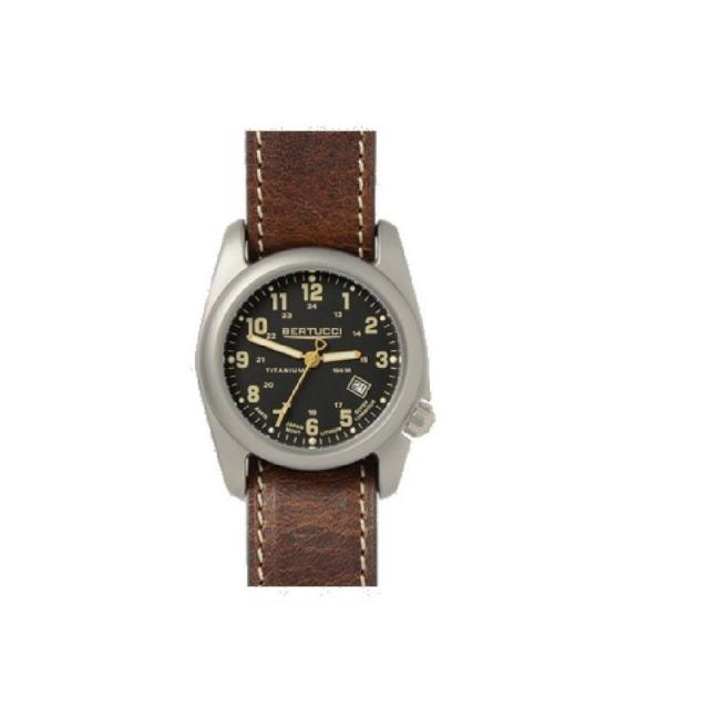 M.h. Bertucci, Inc. - A-3P Sportsmen Vintage Field Watch - Black Nylon