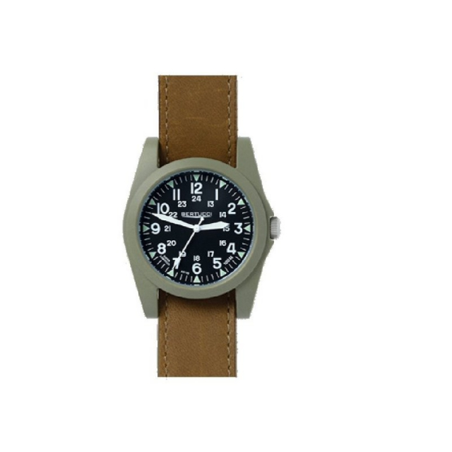 M.h. Bertucci, Inc. - A-3P Sportsmen Vintage Field Watch - Olive Brown