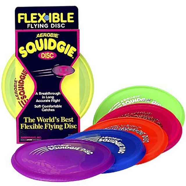 Camping Essentials - Aerobie Squidgie Disc - Assorted Colors
