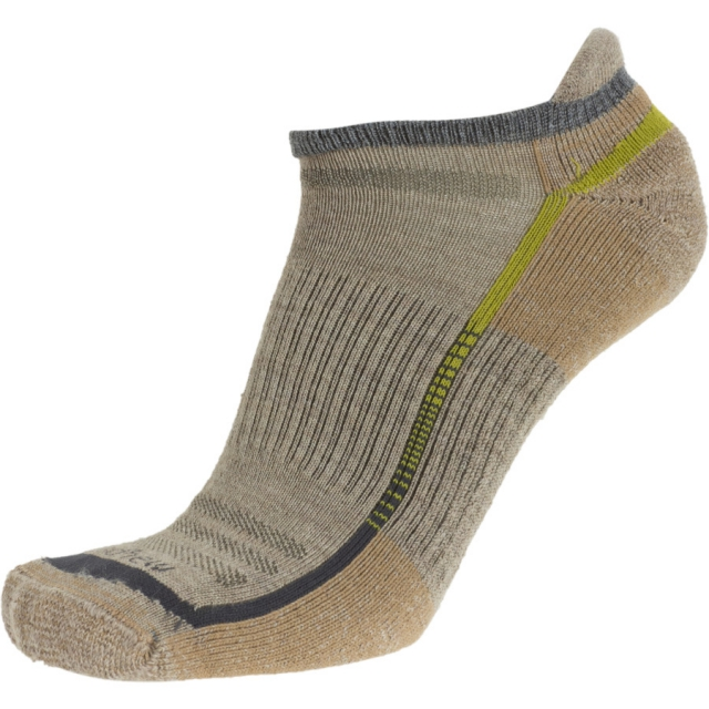 Goodhew - Outdoor Tech Micro Socks - 2 Pack Mens - Khaki M/L
