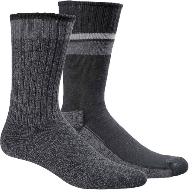 Goodhew - Durango/Hudson Bay Socks - 2 pack Mens - Black L/XL