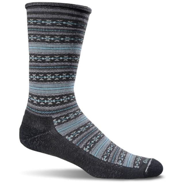 Goodhew - Fun Isle Sock Womens - Black M/L