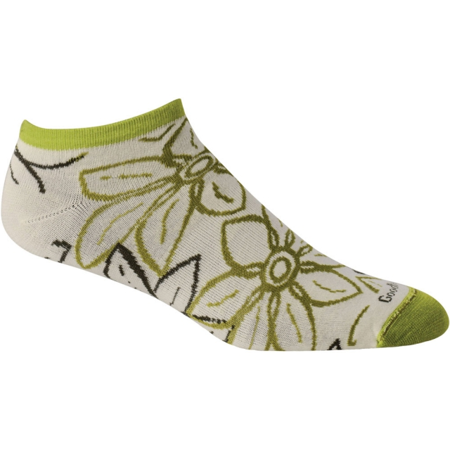 Goodhew - Full Bloom Sock Womens - Limelight S/M