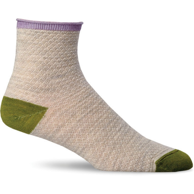 Goodhew - Pebble Stitch Sock Womens - Barley S/M