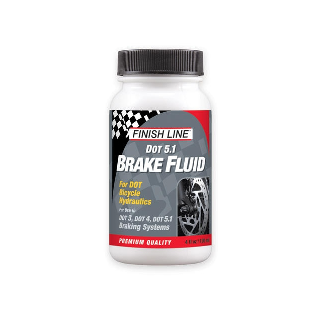 Finish Line - DOT 5.1 Brake Fluid (4-Ounce Bottle)