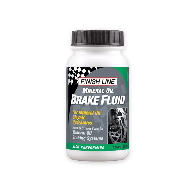 Finish Line - Mineral Oil Brake Fluid (4-Ounce Bottle)