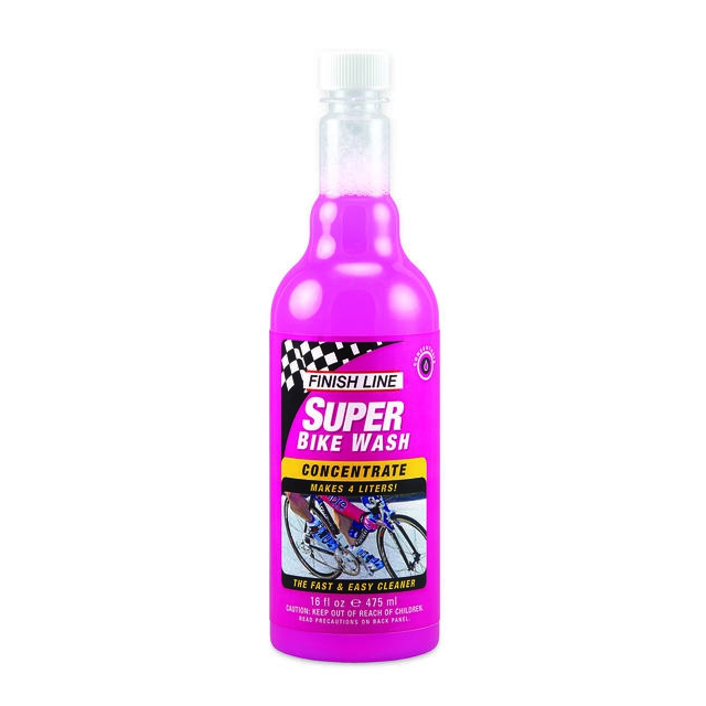 Finish Line - Super Bike Wash Concentrate (16-Ounce Bottle)