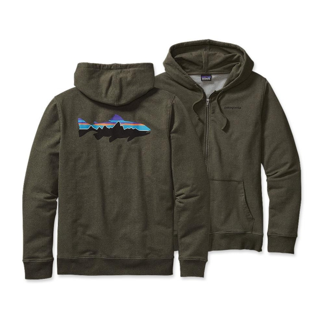 Patagonia - Men's Fitz Roy Trout MW Full-Zip Hooded Sweatshirt
