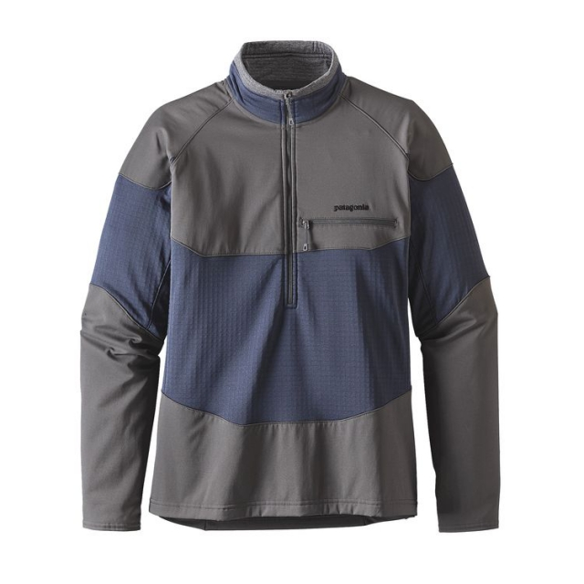 Patagonia - Men's L/S R1 Field 1/4 Zip