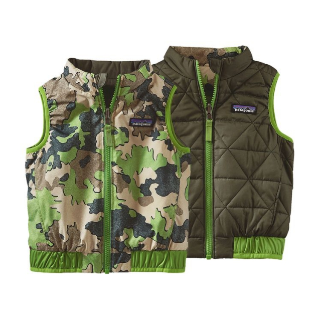 Patagonia - Baby Reversible Puff-Ball Vest