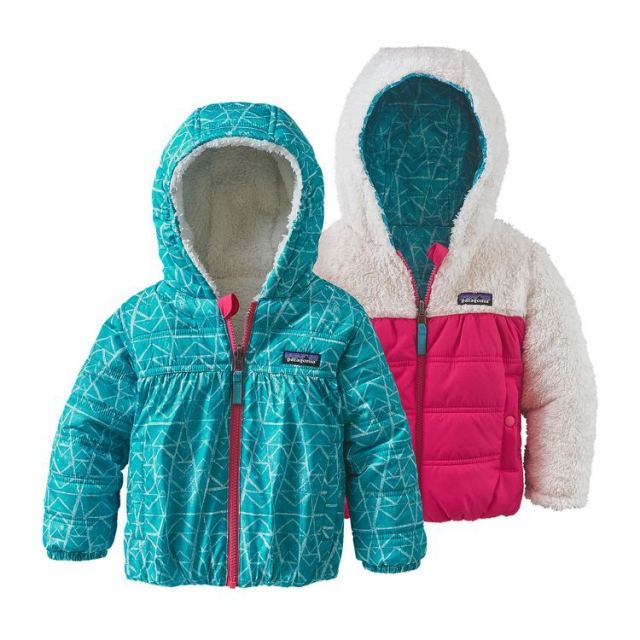 Patagonia - Baby Reversible Honey Puff Hoody