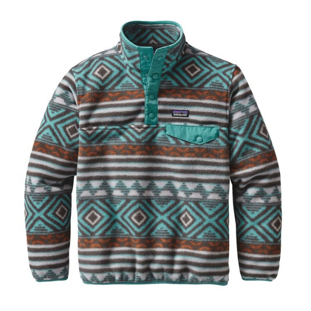 Patagonia - Boys' Lightweight Synchilla Snap-T Pullover