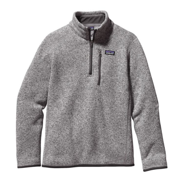 Patagonia - Boys' Better Sweater 1/4 Zip