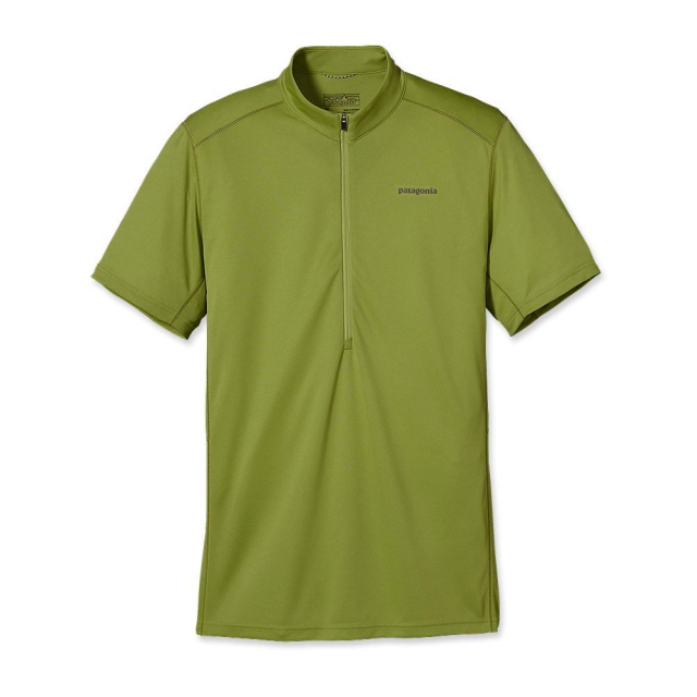 Patagonia - Men's Short-Sleeved Fore Runner Zip Neck