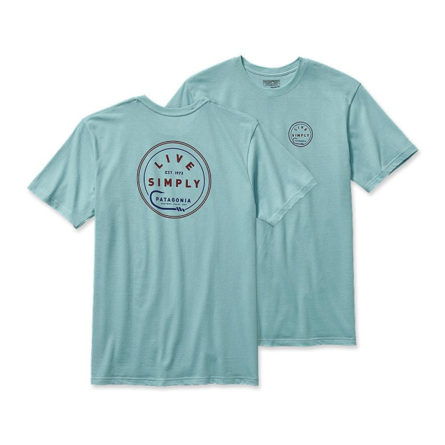 Patagonia - Men's Live Simply Hook Cotton T-Shirt