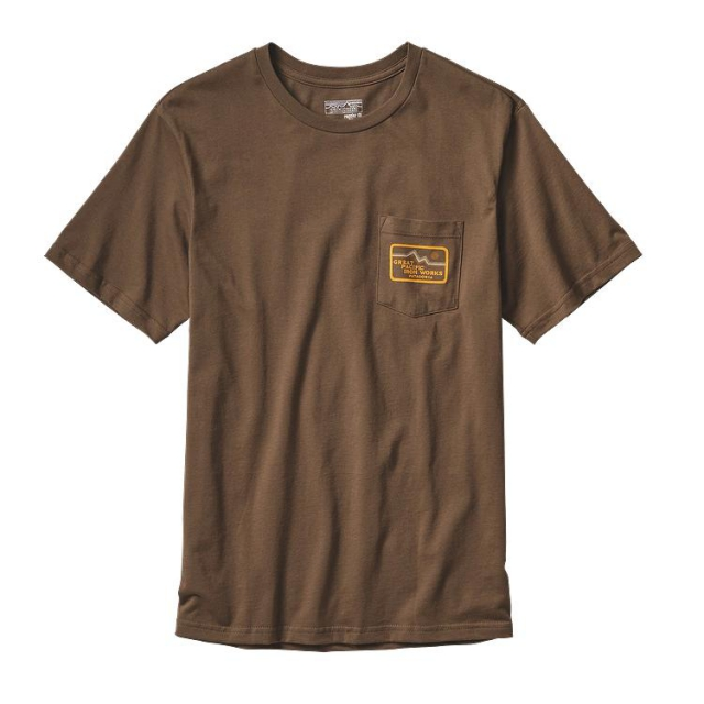 Patagonia - Men's GPIW Badge Cotton Pocket T-Shirt