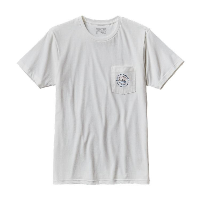 Patagonia - Men's Geodetic Anvil Cotton/Poly Pocket  T-Shirt