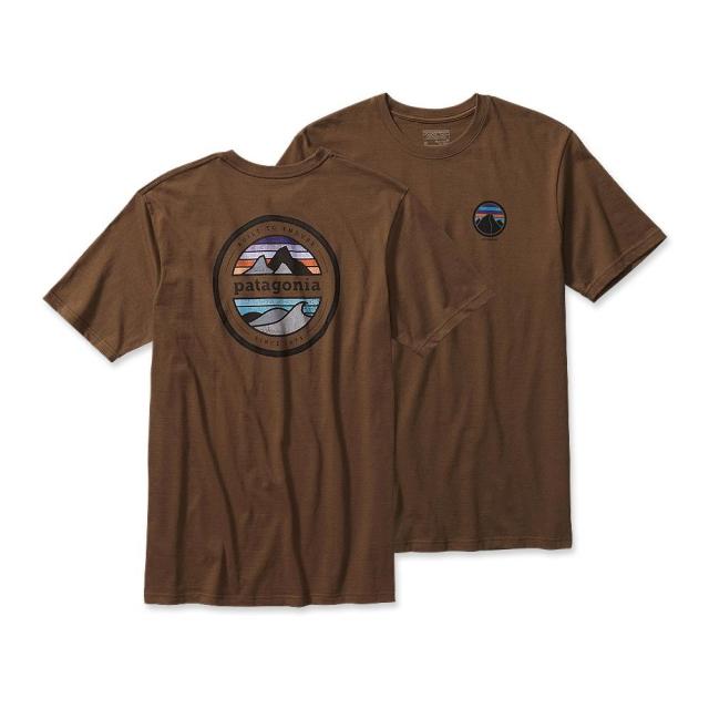 Patagonia - Men's Rivet Logo Cotton T-Shirt