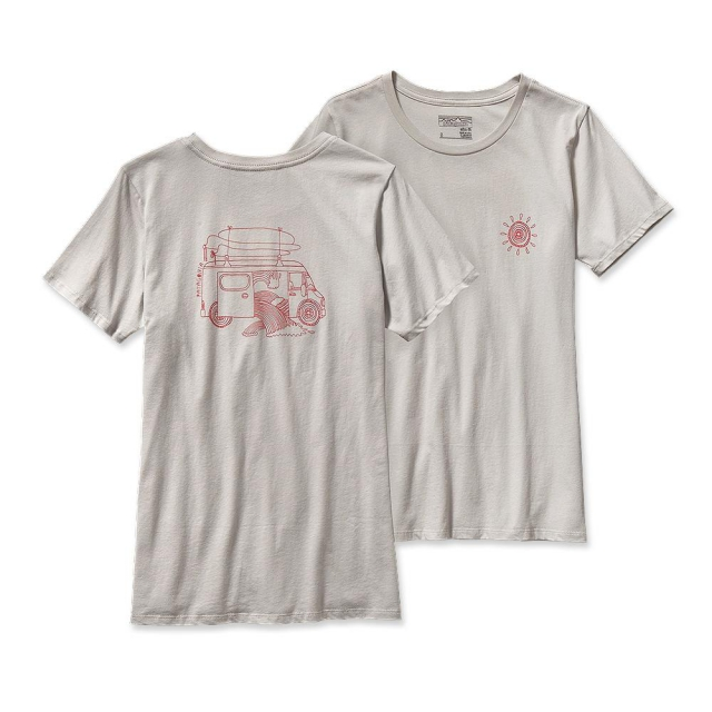 Patagonia - Women's Surf Van Cotton Crew T-Shirt