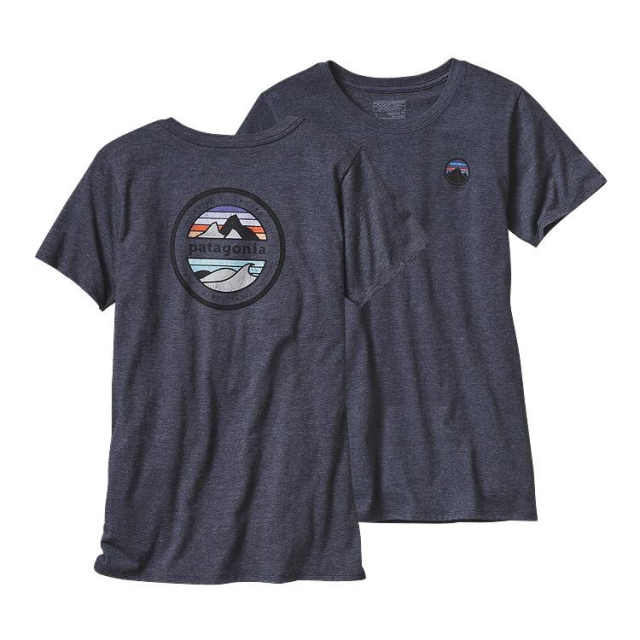 Patagonia - Women's Rivet Logo Cotton/Poly Crew T-Shirt