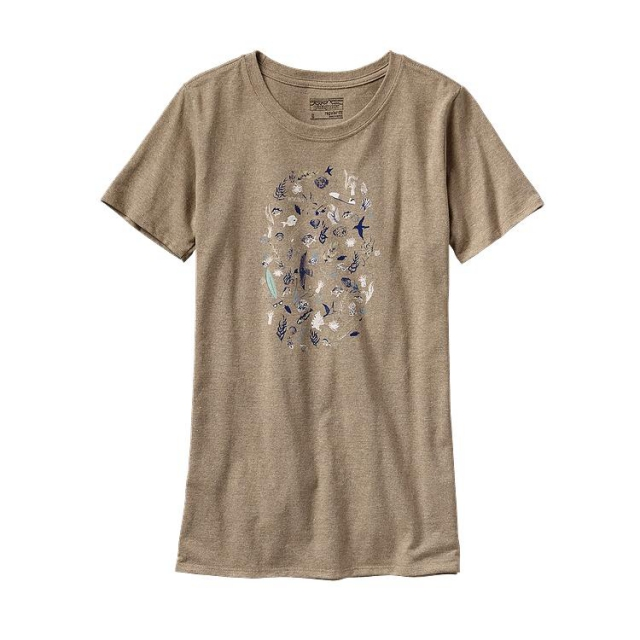 Patagonia - Women's Sea Doodle Recycled Cotton/Poly Responsibili-Tee