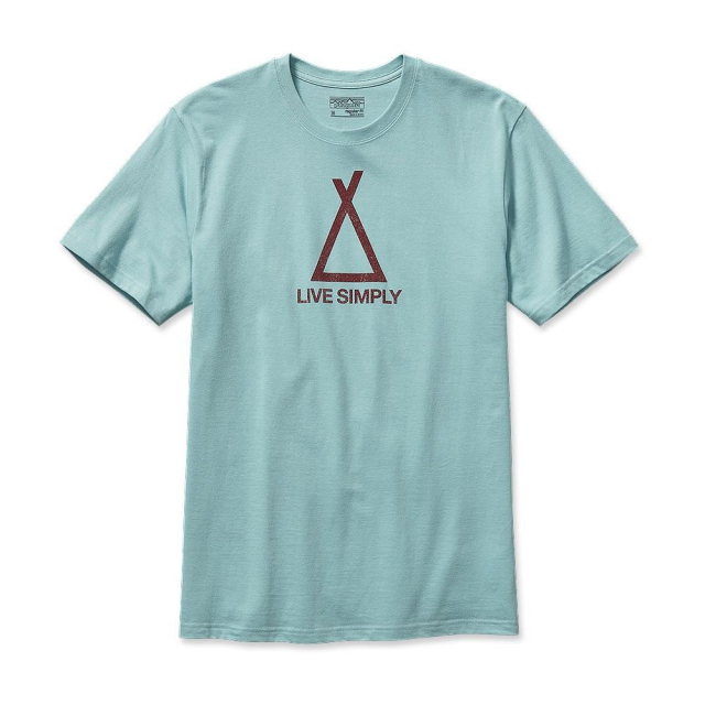 Patagonia - Men's Live Simply Tent Life Cotton T-Shirt