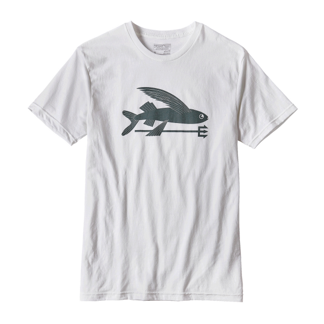 Patagonia - Men's Flying Fish Cotton/Poly T-Shirt