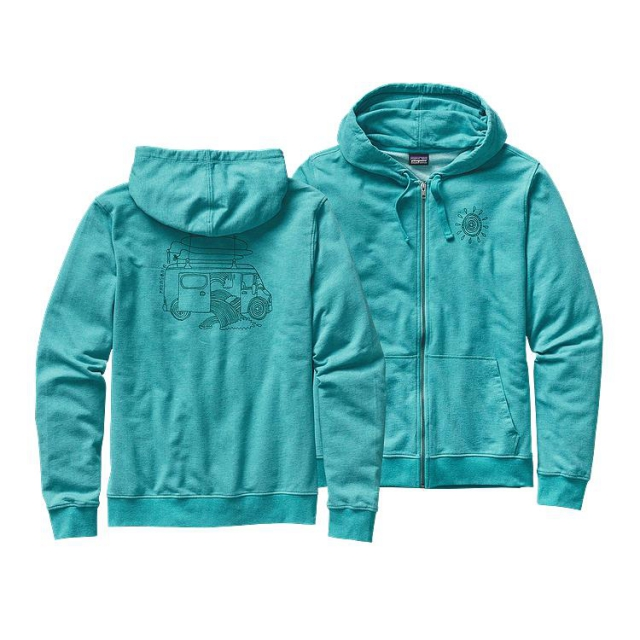 Patagonia - Men's Surf Van Lightweight Full-Zip Hooded Sweatshirt