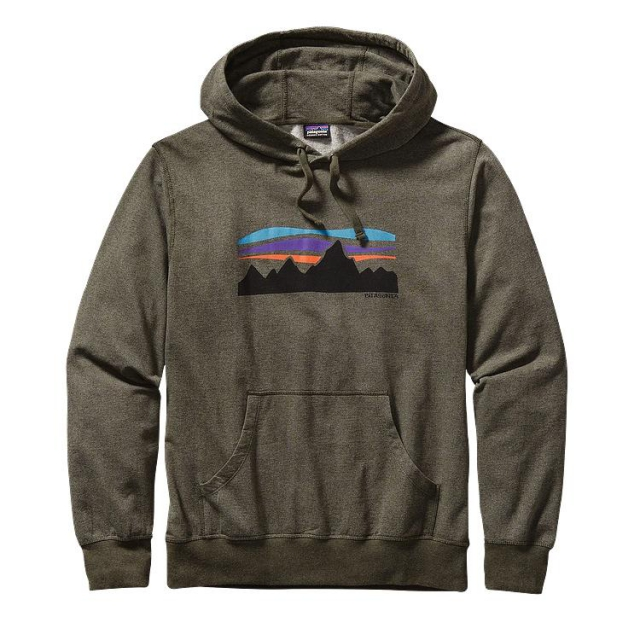 Patagonia - Men's Fitz Roy Banner Lightweight Pullover Hooded Sweatshirt