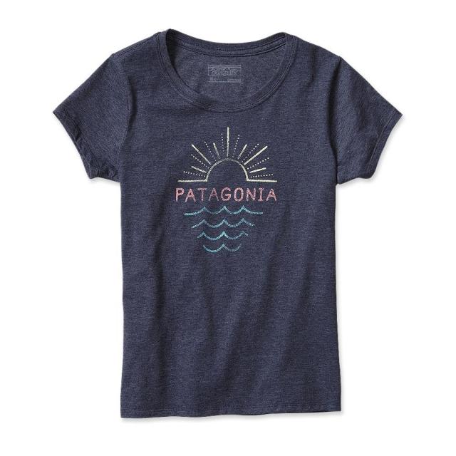 Patagonia - Girls' Graphic Cotton/Poly T-Shirt