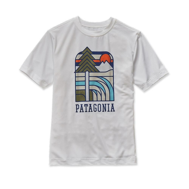 Patagonia - Boys' Cap Daily Graphic Tee