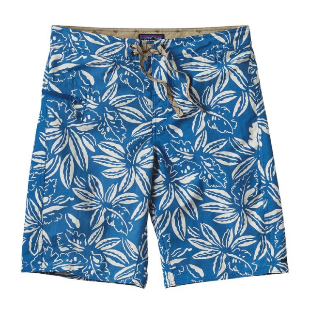 Patagonia - Men's Printed Wavefarer Board Shorts - 21 in.