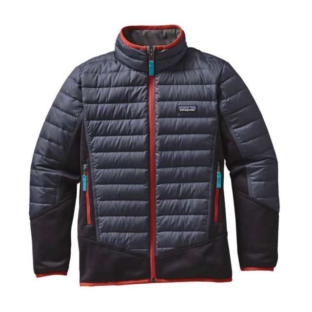 Patagonia - Boys' Down Hybrid Jacket