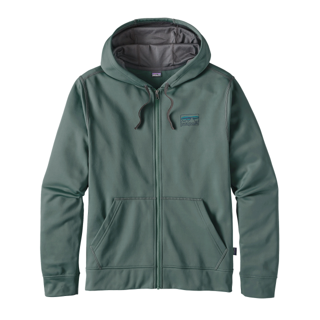 Patagonia - Men's '73 Logo PolyCycle Full-Zip Hoody