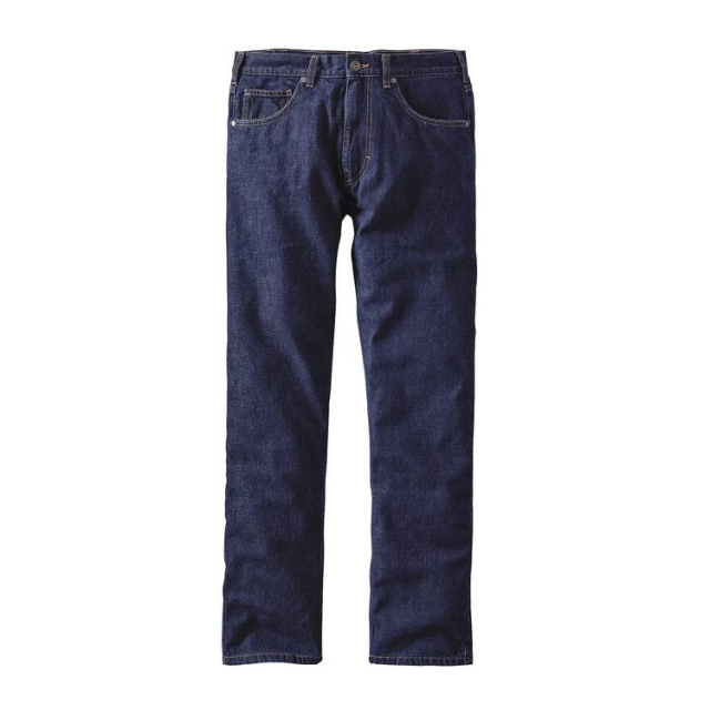 Patagonia - Men's Flannel Lined Straight Fit Jeans - Long