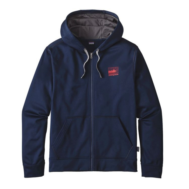 Patagonia - Men's Framed Fitz Roy PolyCycle Full-Zip Hoody
