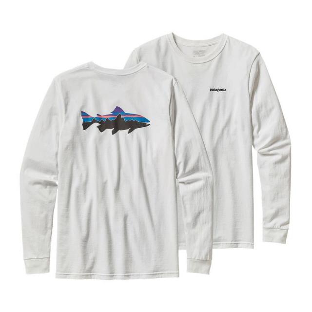 Patagonia - Men's L/S Fitz Roy Trout Cotton T-Shirt