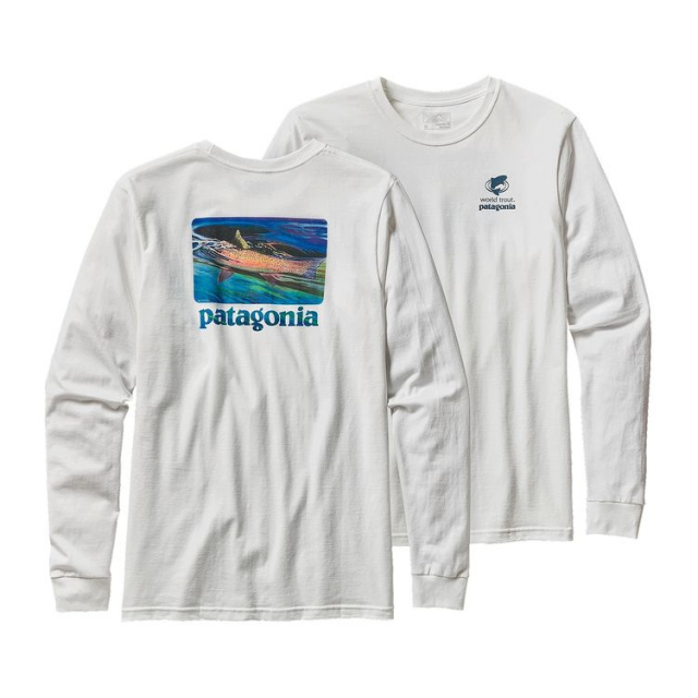 Patagonia - Men's L/S World Trout Slurped Cotton T-Shirt