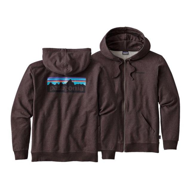 Patagonia - Men's P-6 Logo MW Full-Zip Hoody