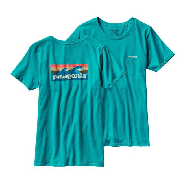 Patagonia - Women's Board Short Label Cotton Crew T-Shirt