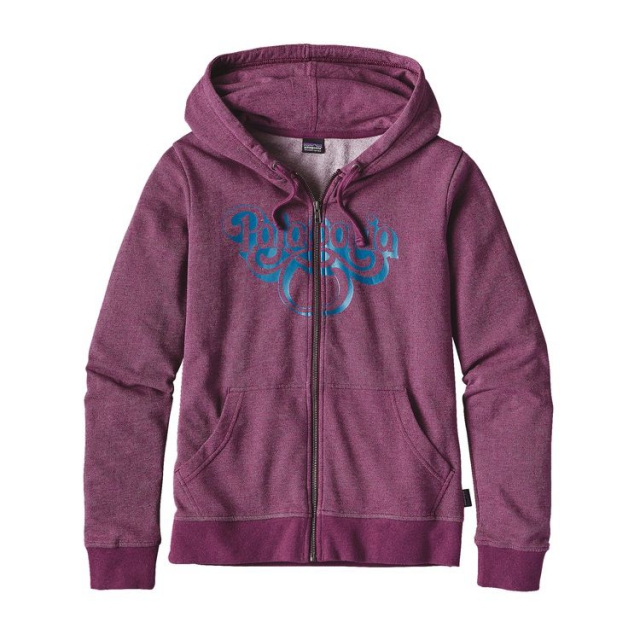 Patagonia - Women's Groovy Type Lightweight Full-Zip Hoody