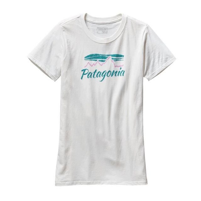 Patagonia - Women's Morning Glow Cotton/Poly Crew T-Shirt