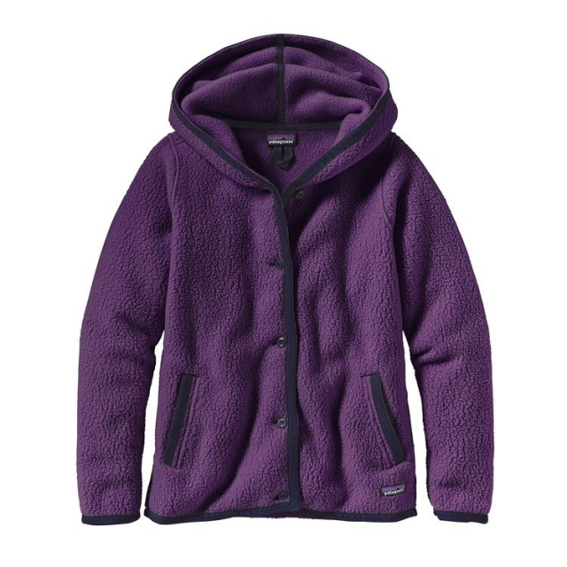Patagonia - Women's Shearling Fleece Hooded Cardigan