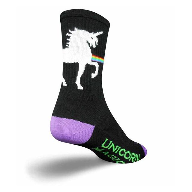 SockGuy - Unicorn Express Crew Socks