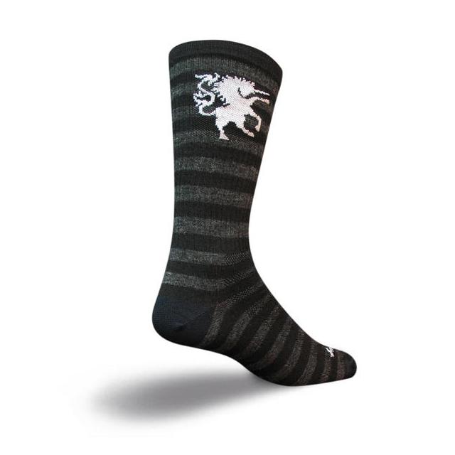 SockGuy - Wool Socks (Medieval Unicorn)