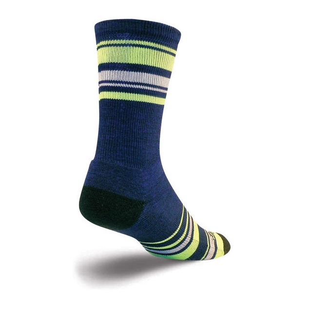 SockGuy - Wooligan Socks (Lime Stripes)