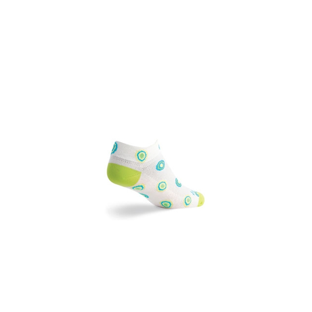 SockGuy - Orb Cycling Sock - Women's - White In Size: S-M
