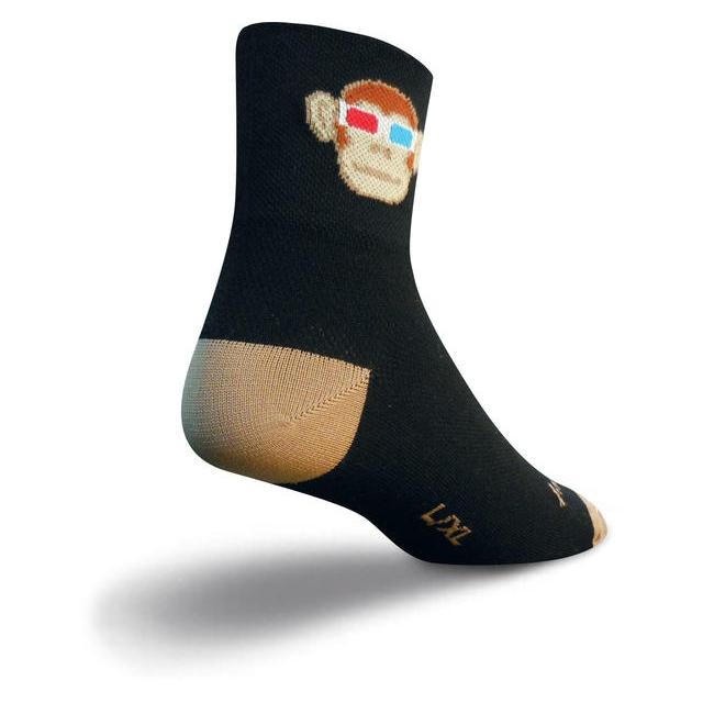 SockGuy - Monkey See 3D Socks