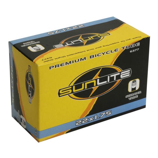 Sunlite - Standard Schrader Valve Tube 22 x 1.75