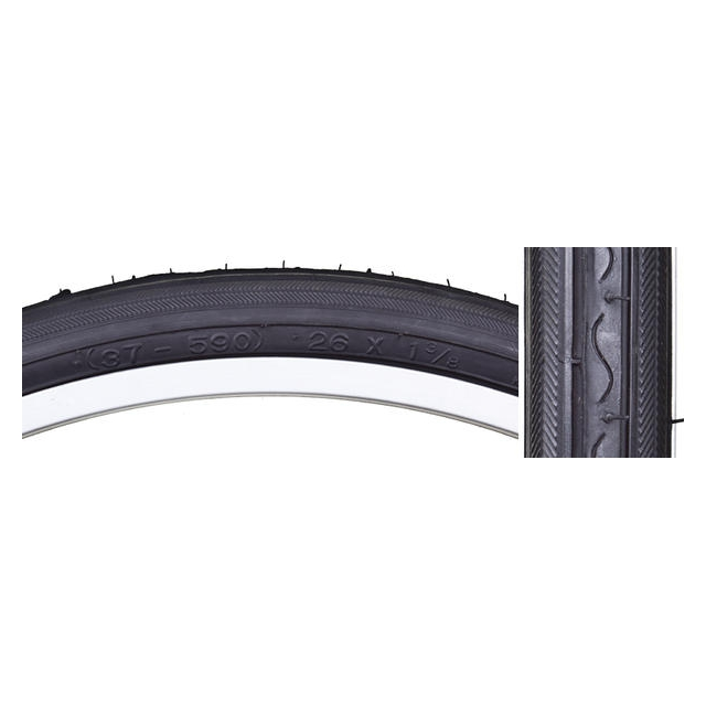 Sunlite - Road Raised Center Tire (Schwinn 26-inch)